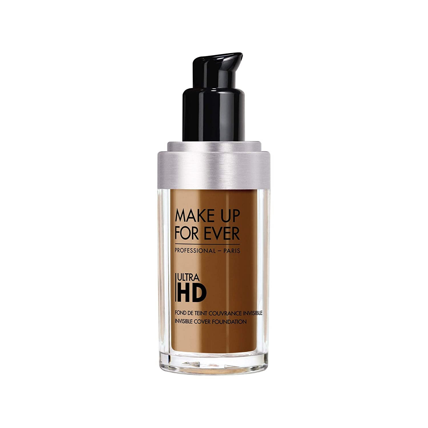 Amazon.com : MAKE UP FOR EVER Ultra HD Invisible Cover Foundation 120 = Y245 - Soft Sand : Beauty