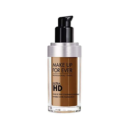 a931d2a15a86 Amazon.com : MAKE UP FOR EVER Ultra HD Invisible Cover Foundation 120 =  Y245 - Soft Sand : Beauty