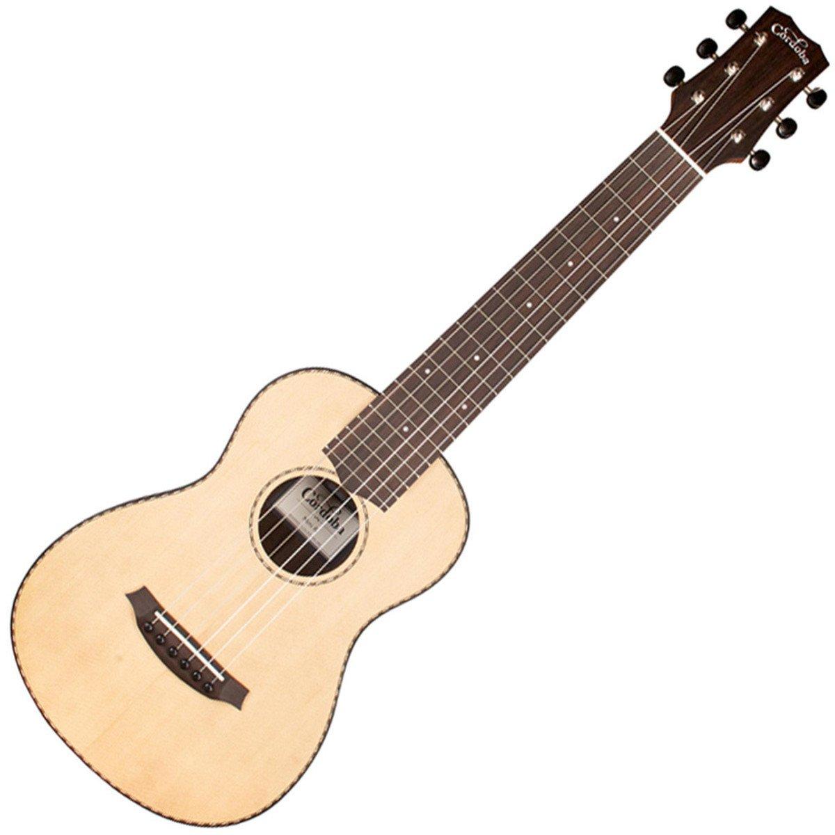 Cordoba Mini R viaje acústica (cuerdas de nailon guitarra w/Bonus ...