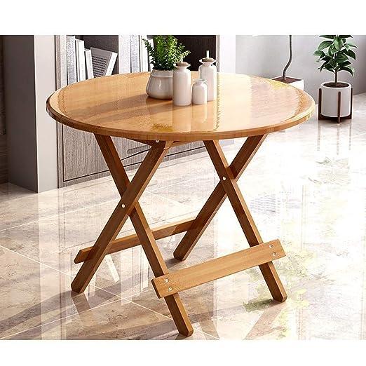 ZhuFengshop Laptop Table Mesa plegable mesa de comedor mesa ...