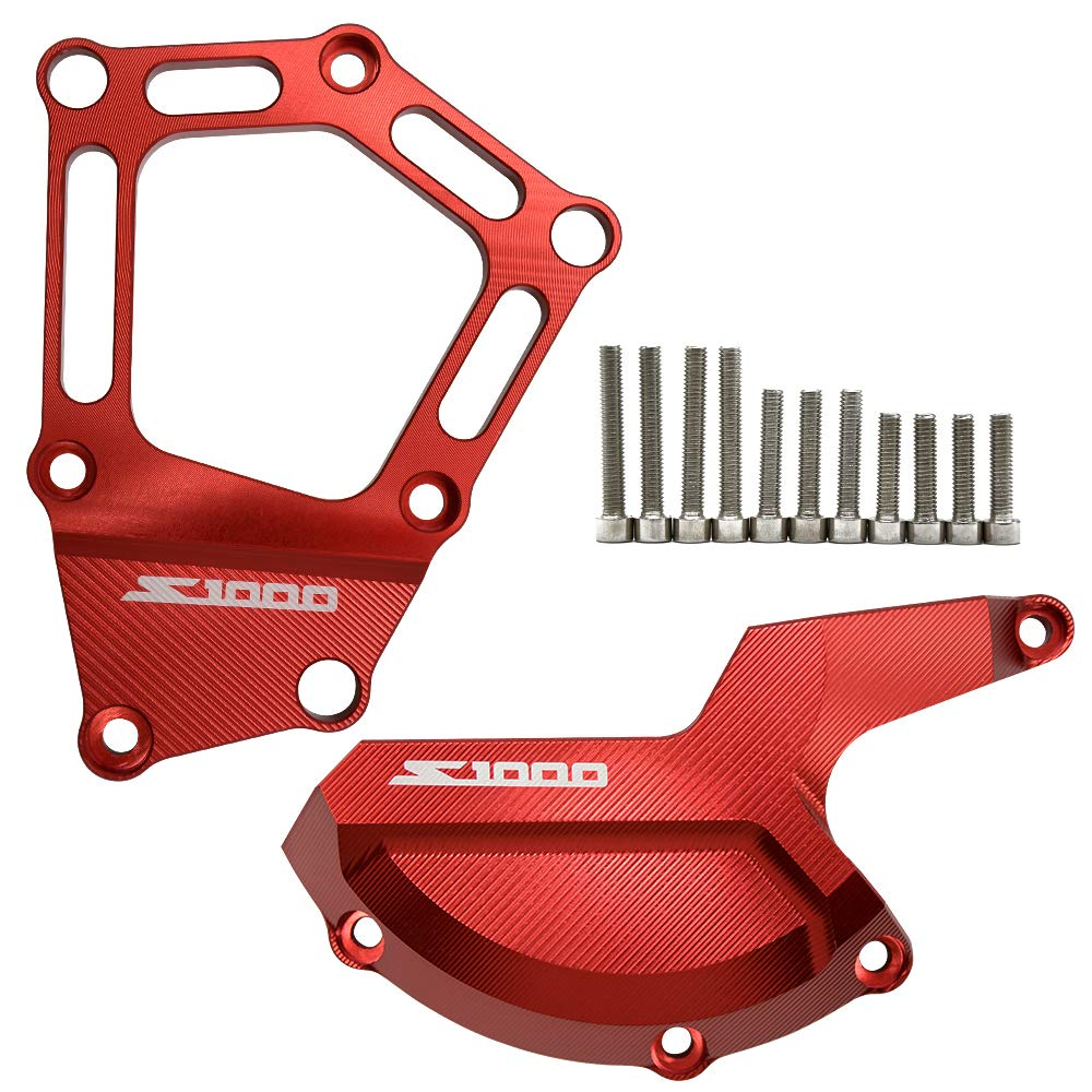 Rosso S1000RR S1000R S1000XR HP4 Custodia statore Motociclo Motore Moto Accessorio per S1000R 2014-2018 S1000RR 2009-2018 S1000XR 2015-2018 HP4 2012-2014