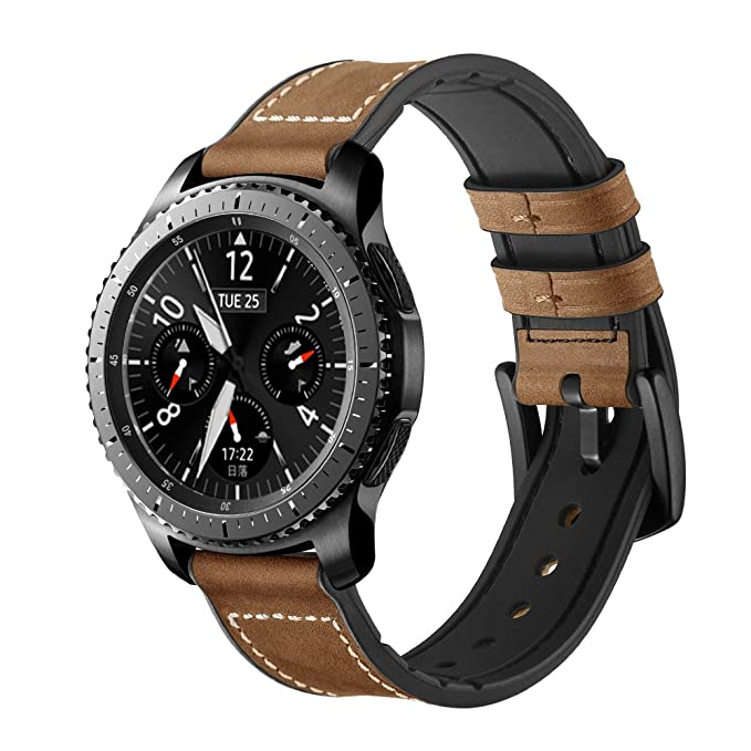 Amazon.com: Gear S3 Watch Band, 22mm Hybrid Sports Bands ...