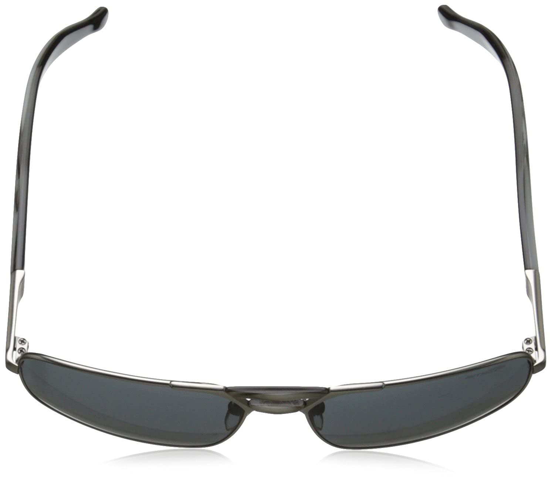 Arnette Smokey Rectangular Sunglasses Gunmetal//Black//Grey 60 mm