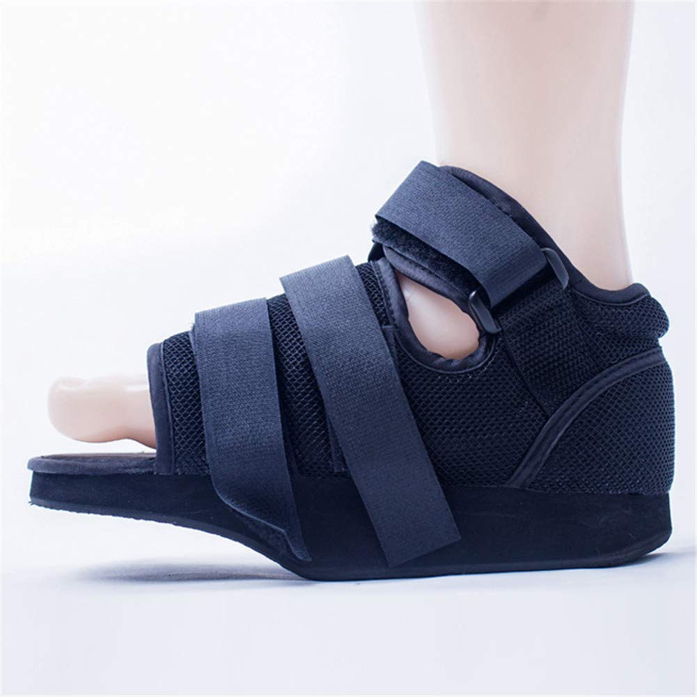 WLIXZ Post-op Shoe, Forefoot Decompression Shoes, Fracture Fixation Gypsum Shoes, for Broken Foot or Toes,XS