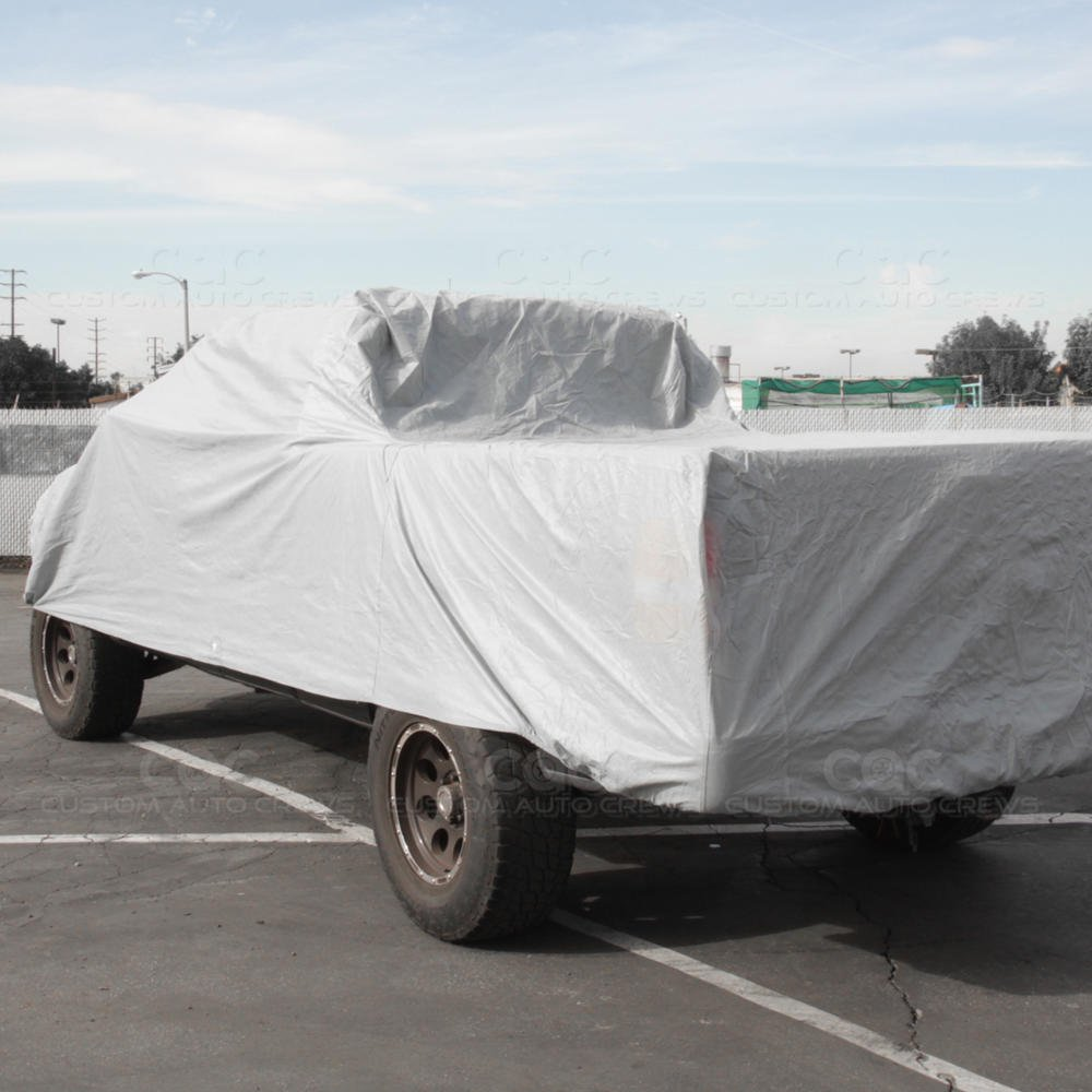 BDK Truck Cover Outdoor Indoor No-Scratch Lining Pickups for Extended Cab