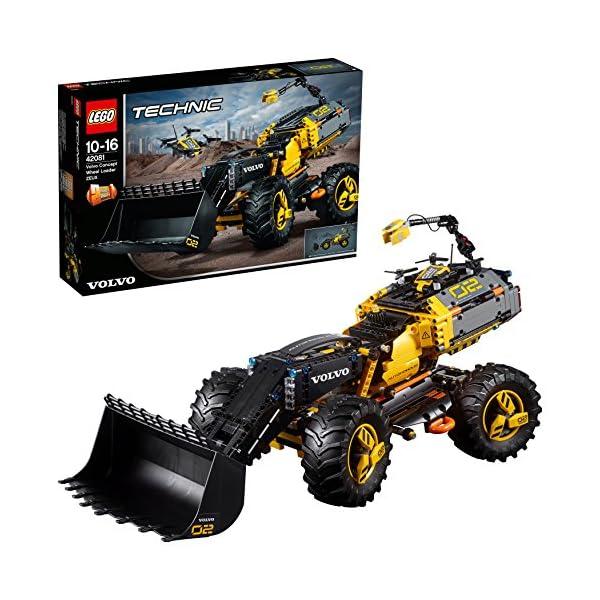 LEGO- Technic Volvo Ruspa gommata ZEUX, Multicolore, 42081 1 spesavip