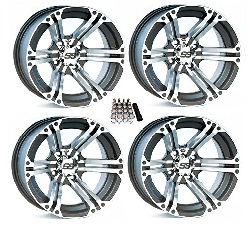 14 inch hubcaps set of 4 blue - 1