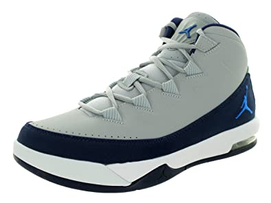 Nike Jordan Men's Jordan Air Deluxe Wolf Grey/Soar/Mid Navy/White Basketball