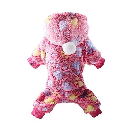 Koojawind Pijama De Perro Fleece Mono De Invierno En General Pet ...