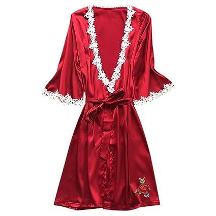 Amazon.com: YKARITIANNA Women Super Hot Sexy Satin Silk ...