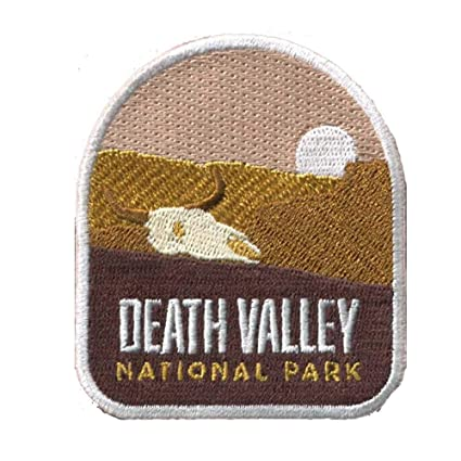 Parks Patches Death Valley National Park Patch Embroidered Iron or Sew On