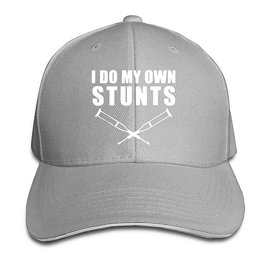 I Do My Own Stunts Broken Leg Get Well Gift Sandwich Hat