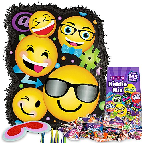Emoji Group Pinata Kit with Candy