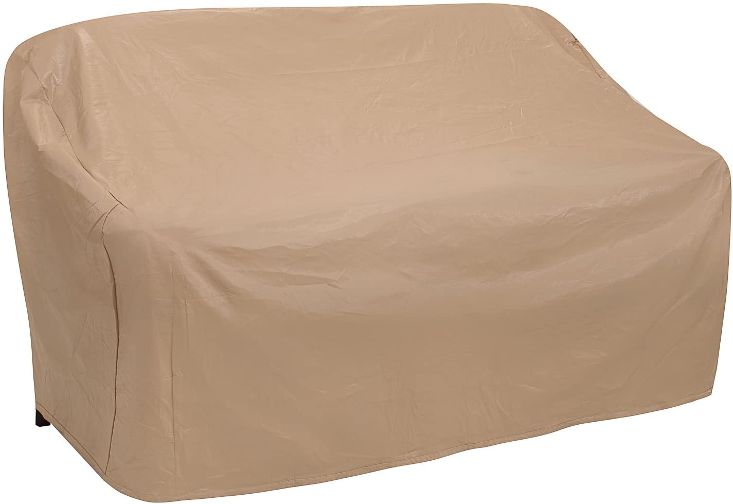 Protective Covers Weatherproof 2 Seat Wicker/Rattan Sofa Cover, X Large, Tan - 1122-TN
