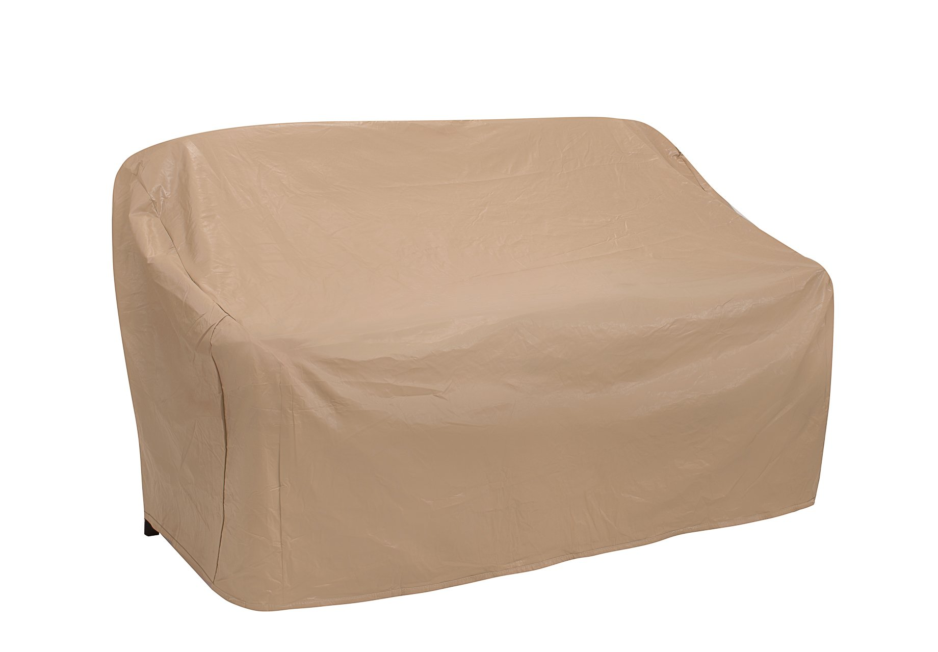 Protective Covers Weatherproof 2 Seat Wicker/Rattan Sofa Cover, X Large, Tan - 1122-TN by Protective Covers