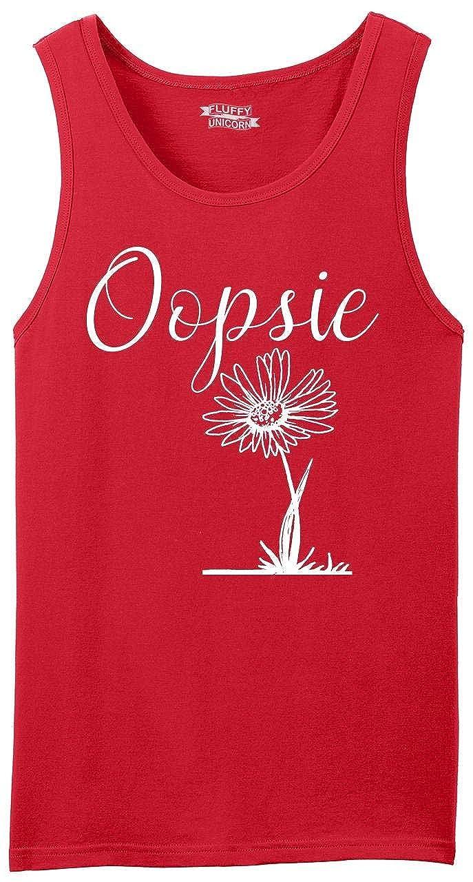 Comical Shirt Mens Oopsie Daisy Tank Top