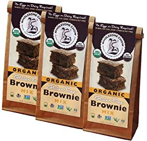 Amazon.com : Gluten Free Chocolate Brownie Mix - Organic ...