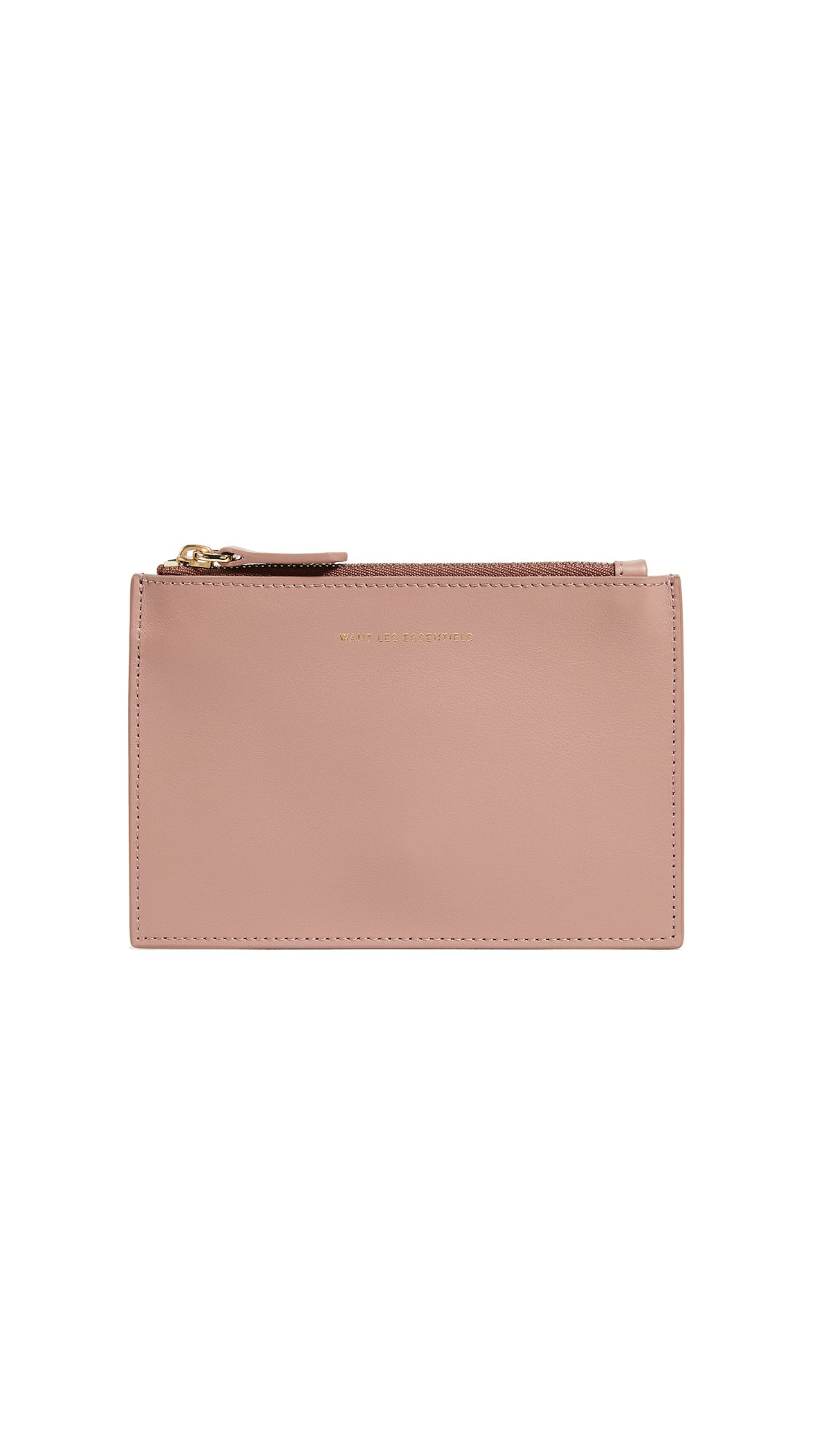 WANT LES ESSENTIELS Women's Mini Lawrence Zip Pouch, Canyon Rose, One Size by WANT LES ESSENTIELS