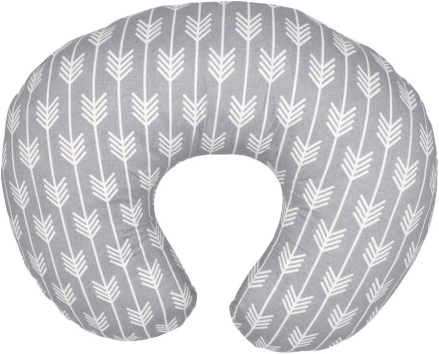 TENDYCOCO Multifunctional Nursing Pillow Covers Slipcover U Maternity Breastfeeding Newborn Cushion Covers Infant Feeding Cushion Covers Arrow