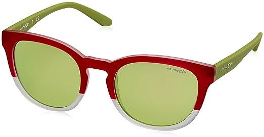 Arnette Herren Sonnenbrille 0AN4230 242125, Türkis (Matte Turquoise/Matte Crystal/Greenmirrorlightbluee), 53
