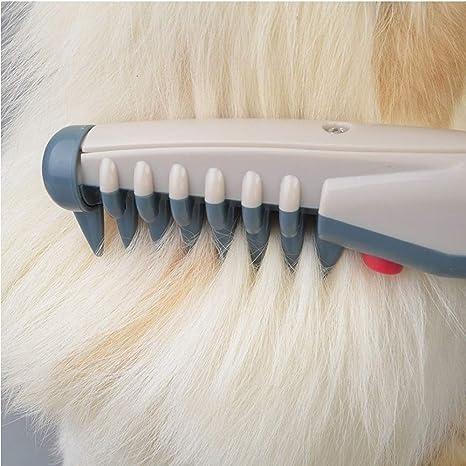 HHJ - Peine eléctrico para Perro, Gato y Mascota, Nudo de Corte ...