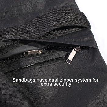 Studiofx Sandbag Sand Bag Saddlebag Design Weight Bags For Photo Video Studio Stand By Kaezi Photography (Yellow - 4 Pack) 2