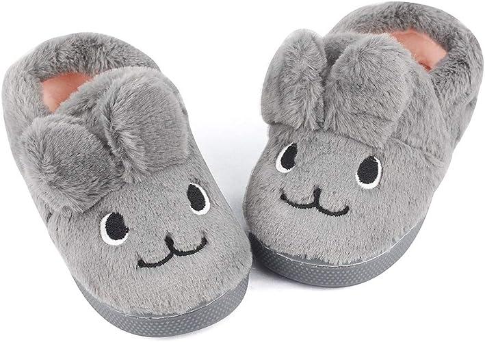 MK MATT KEELY B/éb/é Gar/çons Filles Chaussons Pantoufles Bambin Hiver Chaud Peluche Chaussures