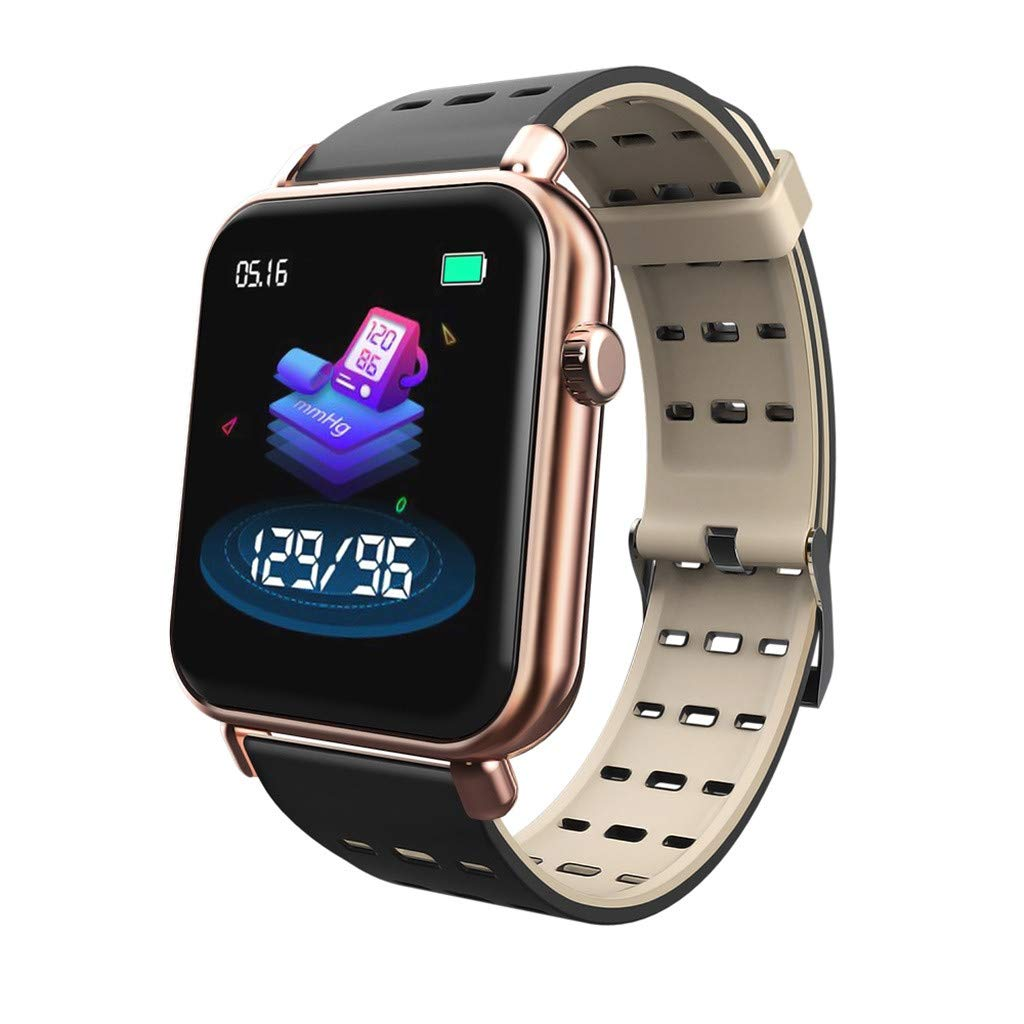 Clearance ! NDGDA ☼ IP67 Waterproof Bluetooth Smart Watch Heart Rate Monitor Mate for iOS Android Y6 Pro by NDGDA Smart Watch