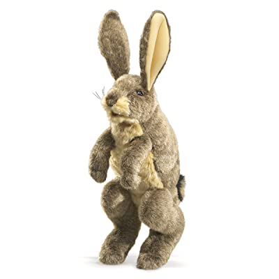 Folkmanis Jack Rabbit Puppet: Toys & Games