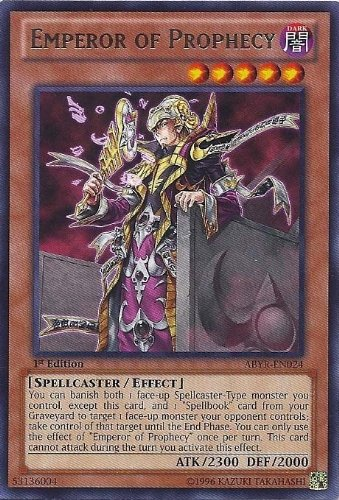 Yugioh Emperor of Prophecy ABYR-EN024 1st Ed Rare