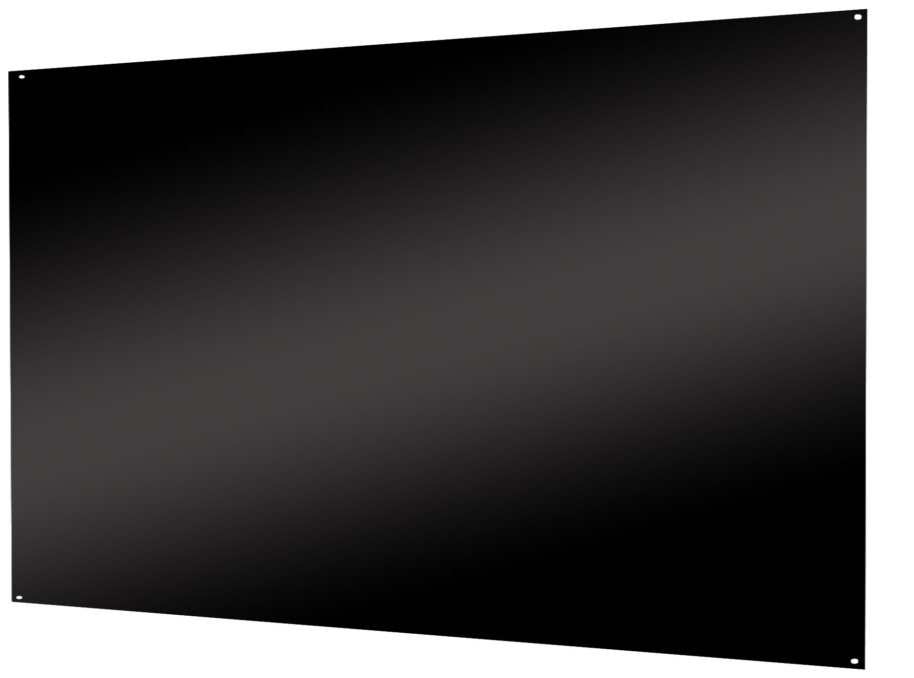 Air King SP2442B Range Hood Back Splash, 42-Inch by 24-Inch, Black Finish