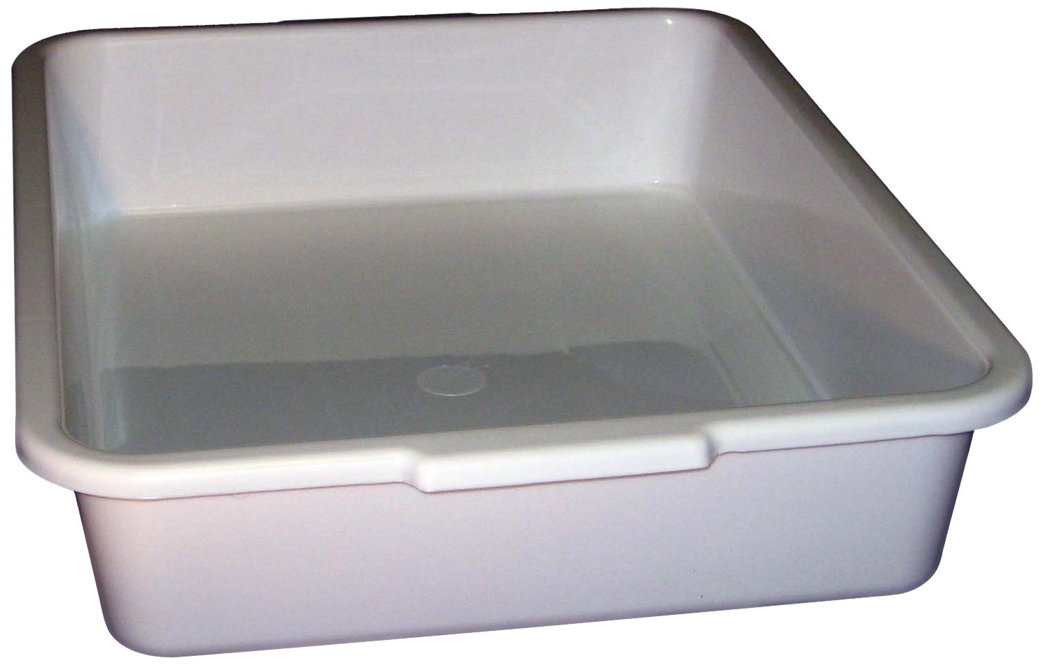 "PSC 1007177 General Purpose Trays, Autoclavable, Polypropylene, 15"" x 12"" x 3"", White"