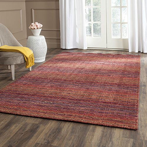 Safavieh Himalaya Collection HIM703A Handmade Red and Multi Premium Wool Area Rug (4' x 6') by Safavieh