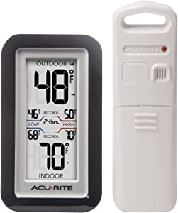 AcuRite 02043 Digital Thermometer with Indoor/Outdoor Temperature