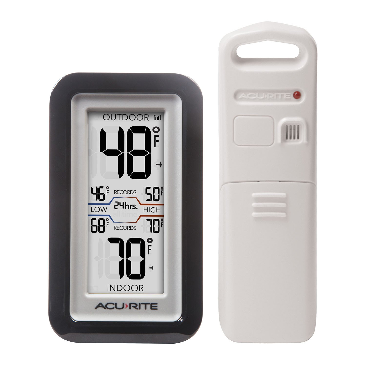 AcuRite 02043 Digital Thermometer with Indoor/Outdoor Temperature