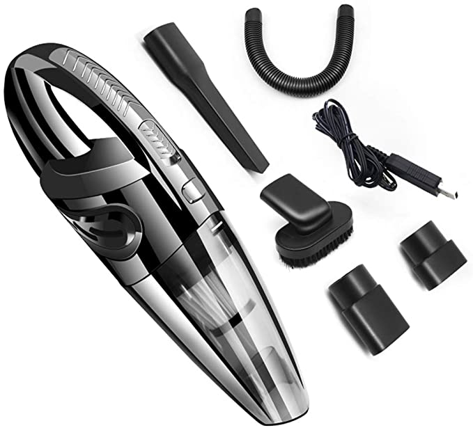 Portable Hoover Hand Held Vacuum Cleaner Cordless Rechargeable Home Car Pet Hair