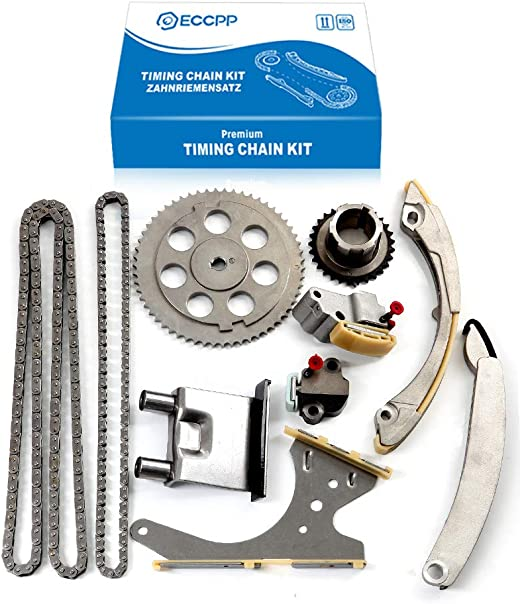 Engine Parts SCITOO TK10437C Timing Chain Kit Guide Rail Cam ...