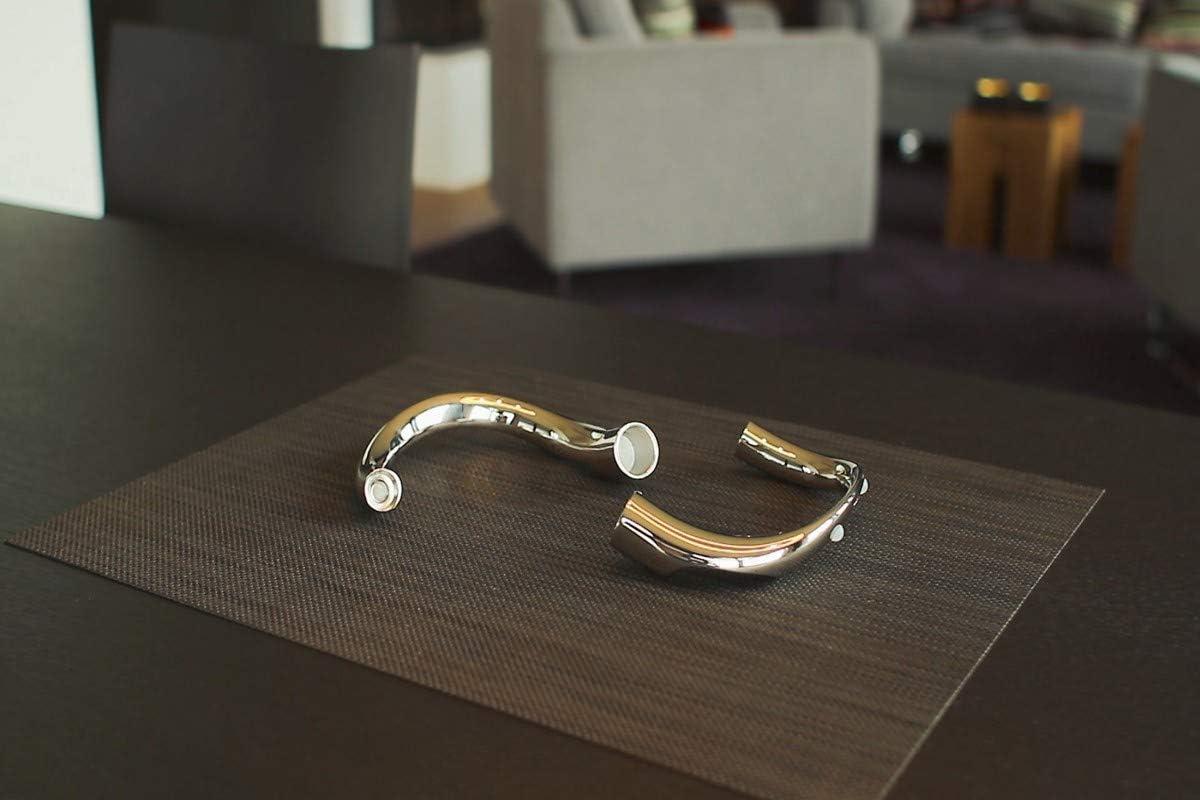l 18,8 PHILIPPI cm design en d/étail Bow magnetischer Kerzenhalter v123125 3 B/ögen