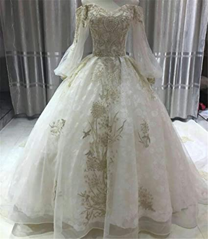 Amazoncom Elegence Z Wedding Dress Simple Bright Diamond