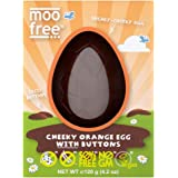 Moo Free Cheeky Orange Egg with Buttons, 120 g