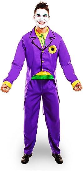 Disfraz Joker Hombre: Amazon.es: Juguetes y juegos