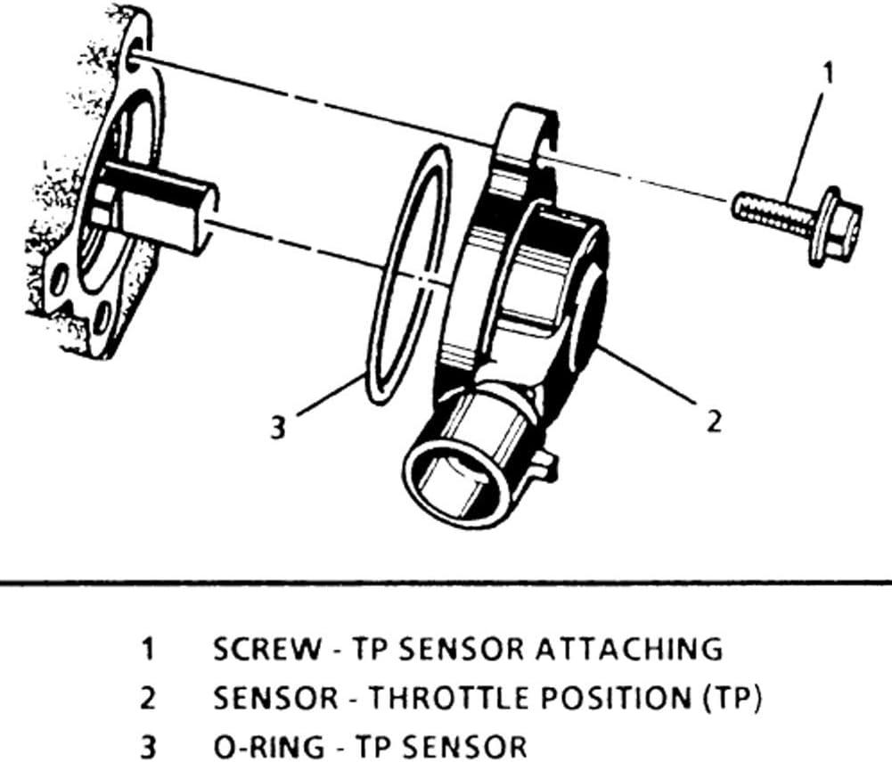 97 jeep cherokee throttle position sensor diagram amazon com tamkken tps sensor throttle position sensor 56027942  tps sensor throttle position sensor