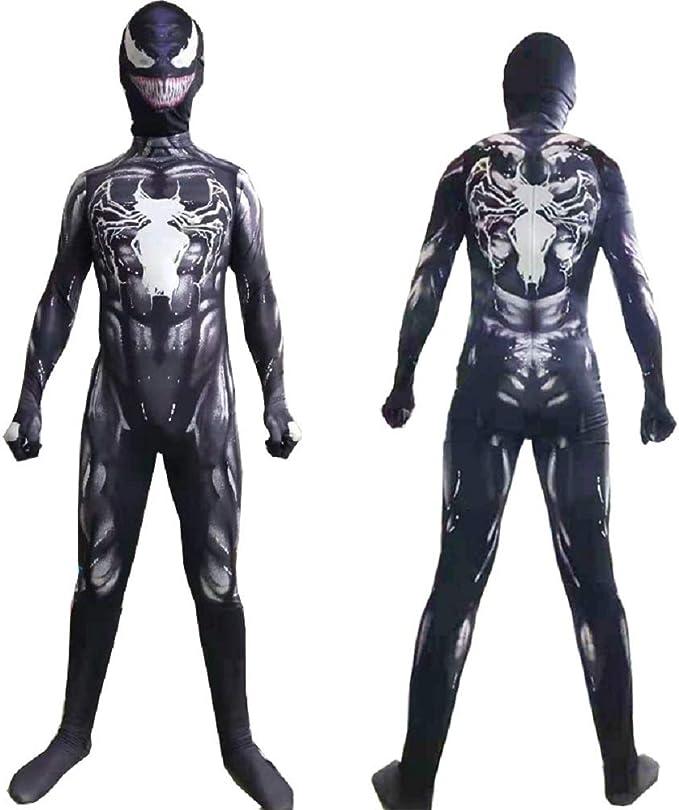 Venom Disfraz de Halloween para Halloween Disfraz de superhéroe ...