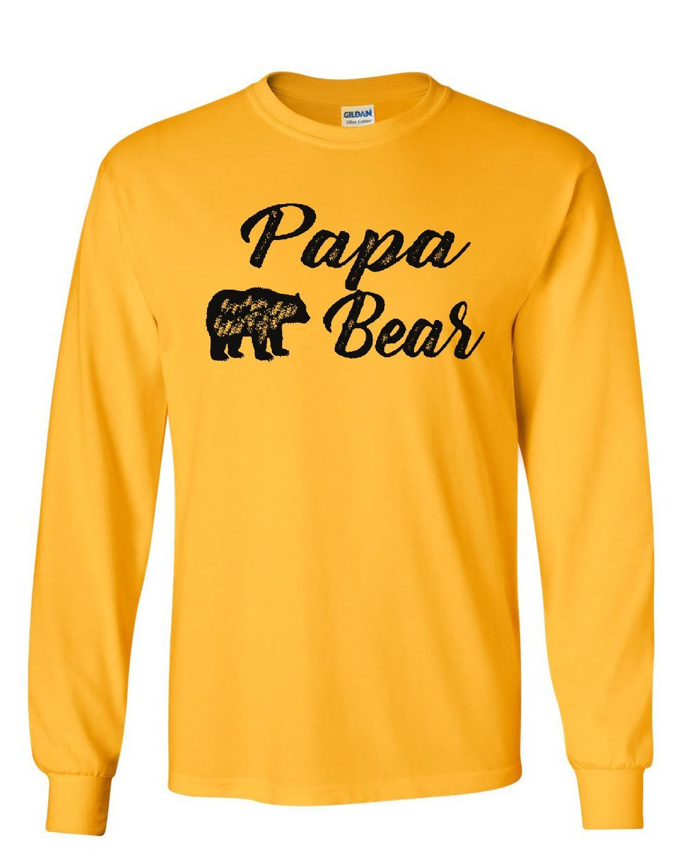 Papa Bear For Dad Father's Day Protector Of The Family Tee T Shirt
