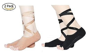 Grippy Non Slip Skid Women Yoga Socks – Best Fitness/Dance/Pilates/Ballet
