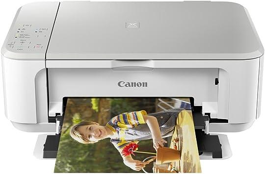Impresora Multifuncional Canon PIXMA MG3650 Blanca Wifi de ...