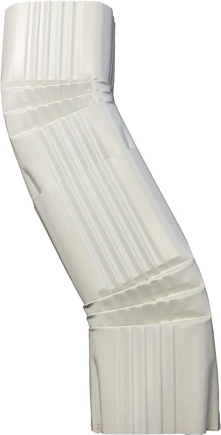 3x4 B, ALMOND Aluminum Offset Downspout Elbow