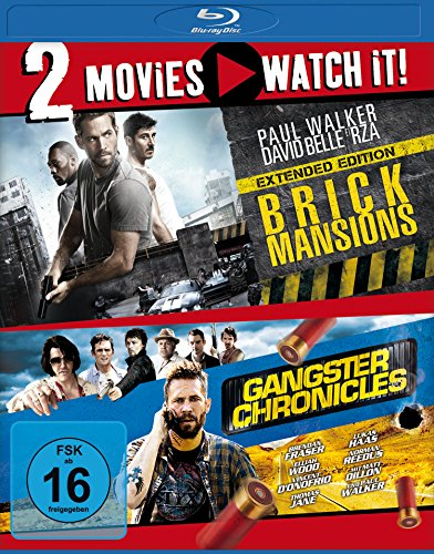 2Movies - Brick Mansions / Gangster Chronicles Blu-ray (FSK 16 Jahre)
