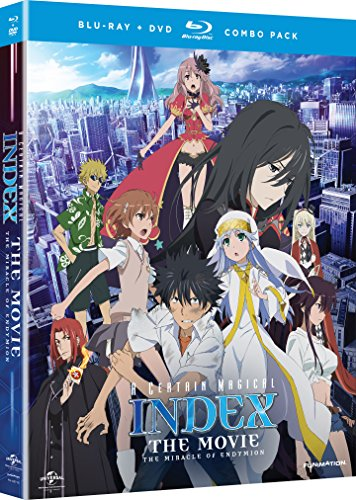 UPC 704400067655, A Certain Magical Index: The Movie - The Miracle of Endymion (Blu-ray/DVD Combo)