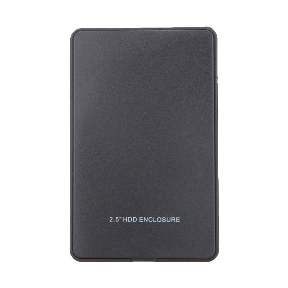 "Auntwhale 2.5"" External HD USB 2.0 2TB BOX Memory Mobile Hard Drive Disk Enclosure Case (Black)"